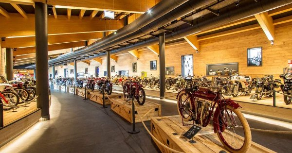 The highest motorcycle museum has been burnt to flames