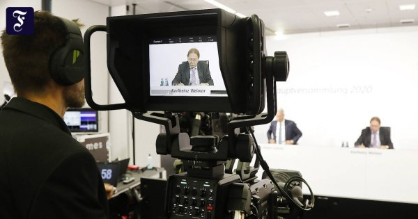 Hauptversammlungen: Der Aktionär darf Video-Schnipsel schicken