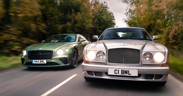 Progress report: Bentley Continental R vs Continental GT