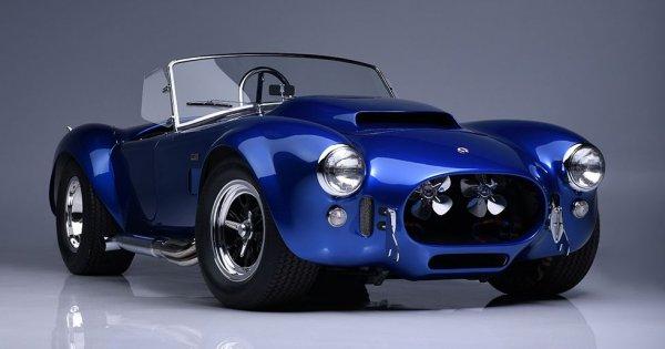 The Only Remaining Shelby Cobra 427 Super Snake Sells for $5.5 Million