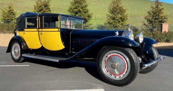 Blackhawk Collection confirms sale of Bugatti Royale