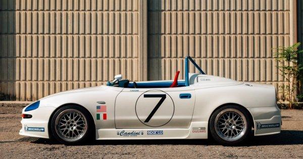 This Maserati 320 S Is A One-Off Racing-Aimed Barchetta Designed By Giorgetto Giugiaro