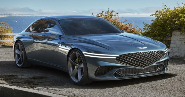 The Genesis X Concept is unbelievably gorgeous