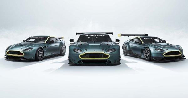 Aston Martin celebrates racing success with Vantage Legacy trio | Autocar