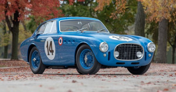 1952 Ferrari that raced at Le Mans and once traded hands for $200 is up for sale