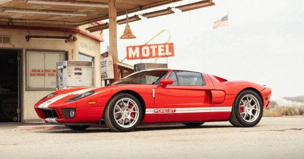 Win a Rare 2005 Ford GT and $20,000