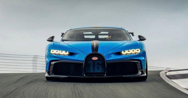 Bugatti Chiron Pur Sport: Test auf der Rennstrecke - autobild.de