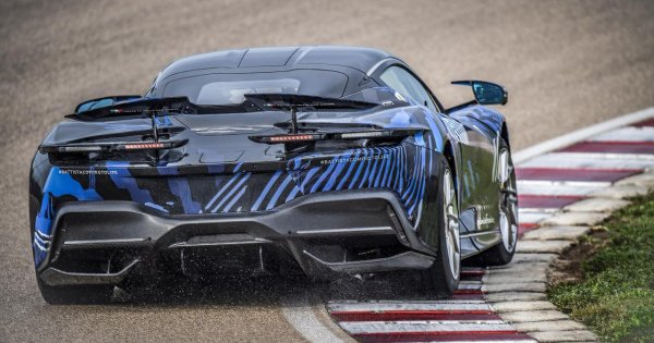 """Pininfarina Battista boss: """"there's no such thing as too fast"""""""