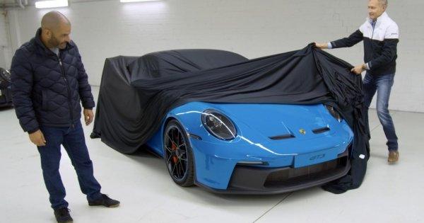 Surprise! It's the new Porsche 911 GT3