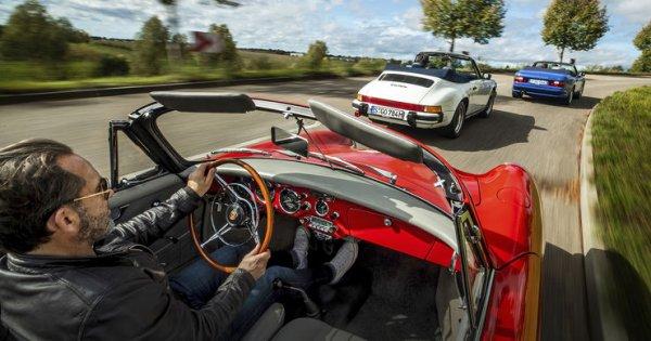 Porsche 356 B, 911 Carrera und 944 Turbo Cabriolet: Welches Porsche Cabrio überzeugt restlos?