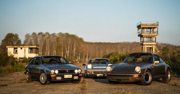 Automotive Archaeology: Visiting An Abandoned Italian Race Track With A Porsche, A Ferrari, And An Alfa Romeo