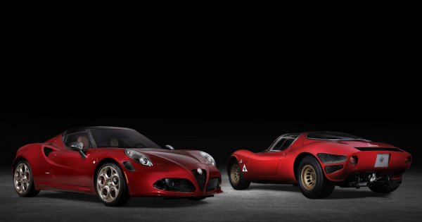 Alfa Romeo 4C bows out after 2020, will go out with 33 Stradale Tributo special