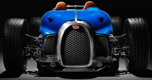 Bugatti has turned the legendary Type 35 into a crazy modern showcar