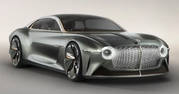 Bentley say that their first EV will be styled on the stunning EXP 100 GT