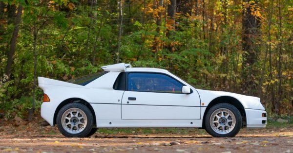 You Can Buy This Real Ford RS200 just like a Group B Rally Car!