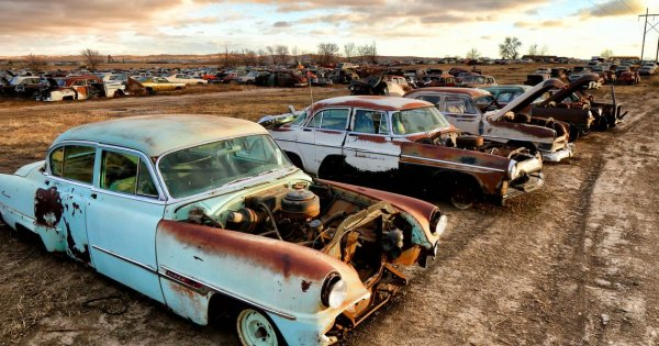 Rust Never Sleeps at Moore's Auto Salvage