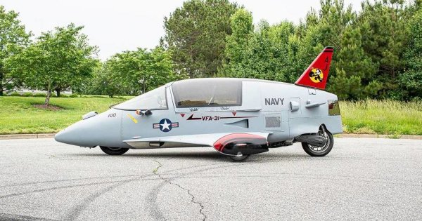 The Pulse Autocycle Is Like An Airplane For The Open Road