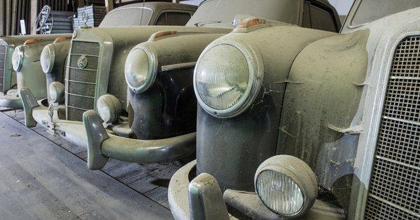Fast vergessene Mercedes-Benz-Sammlung – Sterne 30 Jahre ohne Tageslicht (Rund ums Auto)