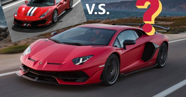 Quiz: supercar higher or lower!