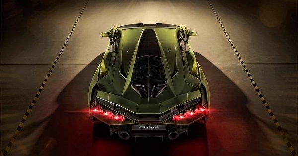 Lamborghini wird mit dem limitierten Sián neues Mitglied im Hybrid-Club