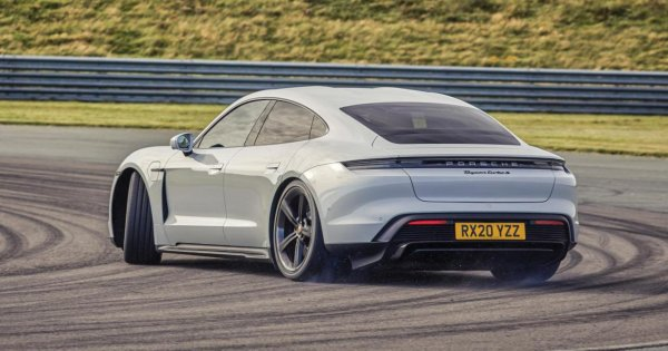 The Porsche Taycan now outsells the Cayman