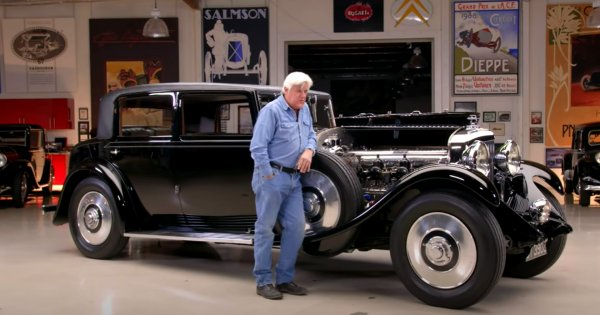Bentley built just 100 examples of the 8 Litre, and Jay Leno has one