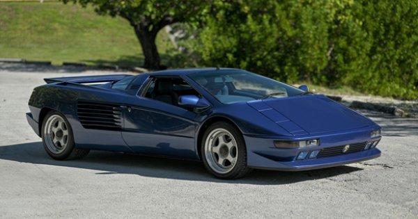 Sechzehnzylinder-Supersportwagen Cizeta V 16 T - ein Mann und sein Traum (Fahrzeugberichte). Der erste Entwurf von Marcello Gandini gefiel dem Auftraggeber überhaupt nicht.