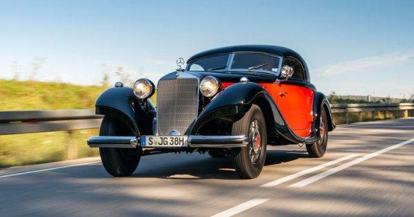 Mercedes 320 n Kombinations-Coupé W 142: Modernes aus der Vergangenheit