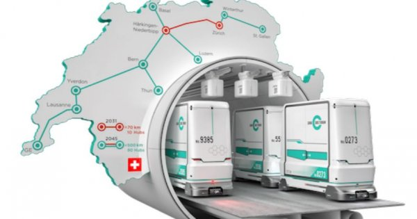 "Im Brennpunkt: Cargo sous terrain – ""Gotthardprojekt des 21. Jahrhunderts""?"