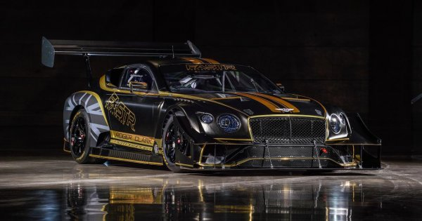 Say hello to Bentley's outrageous Continental GT3 'Pikes Peak'