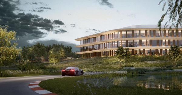Check out Rimac's fancy new headquarters