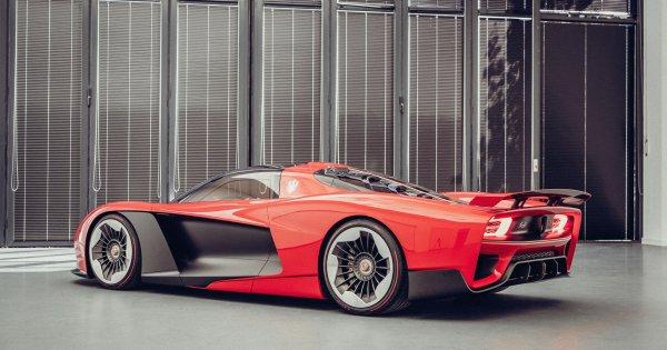 1,400-hp, Walter de Silva-designed Hongqi S9 hypercar debuts in Shanghai