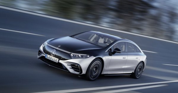 Mercedes EQS Peels Back the Camo and Reveals More Details