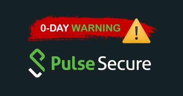 WARNUNG: Hacker nutzen ungepatchten Pulse Secure 0-Day aus, um in Unternehmen einzudringen   All Tech News