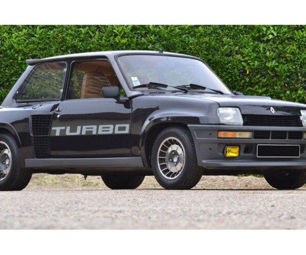 Renault 5 Turbo (1981) Artcurial Auktion: Gallischer Sportwagenschreck kostet sechsstellig